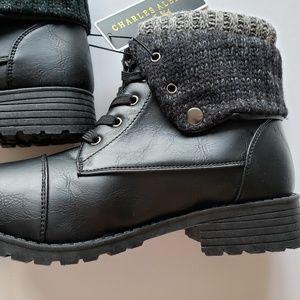 NIB Black Combat/Hiking Boots